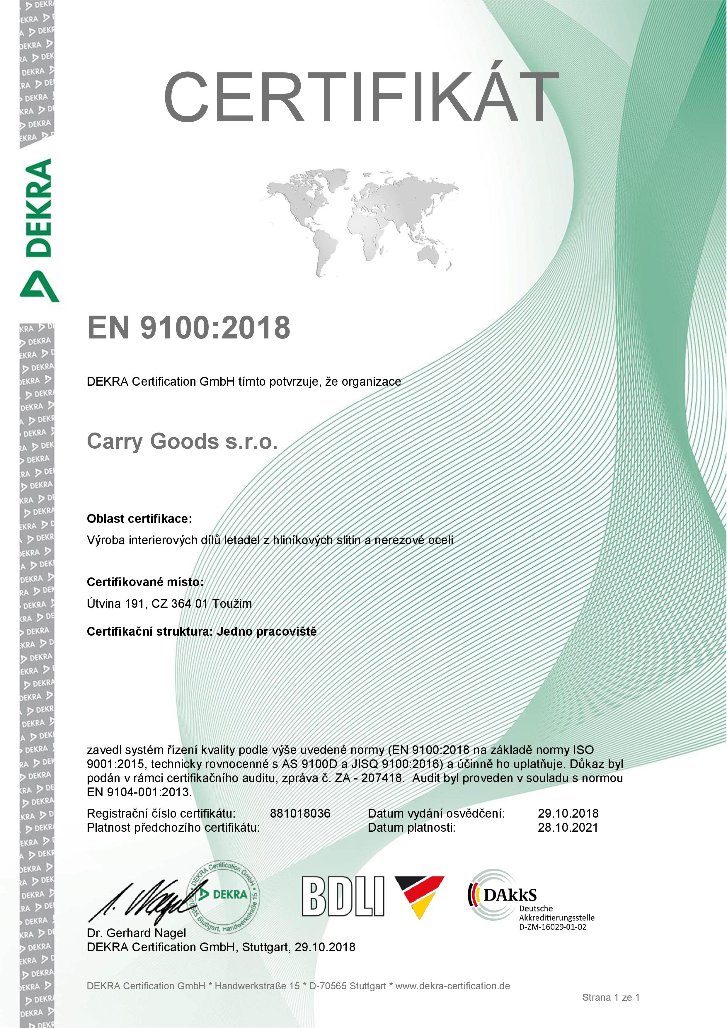 Certificate EN 9100_2018 cz logo-page-001